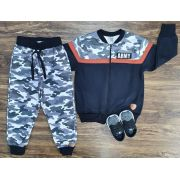 Conjunto Army Infantil