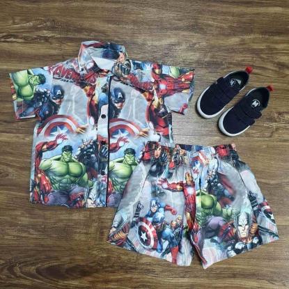 Conjunto Avengers Infantil