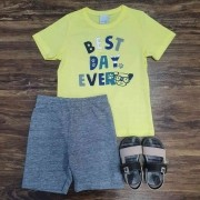 Conjunto Best Day Infantil