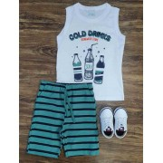 Conjunto Cold Drinks Infantil