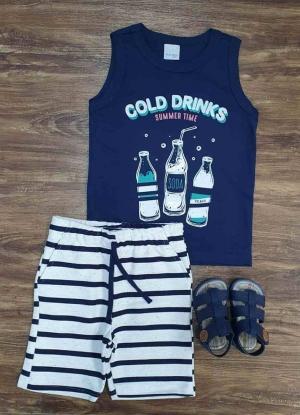 Conjunto Cold Drinks Infantil