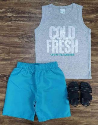 Conjunto Cold Fresh Infantil