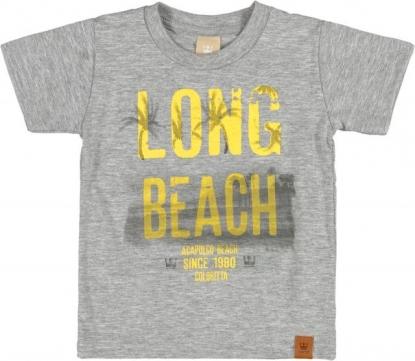 Conjunto Colorittá Long Beach Cinza com Amarelo