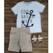 Conjunto Cool Sailor Infantil