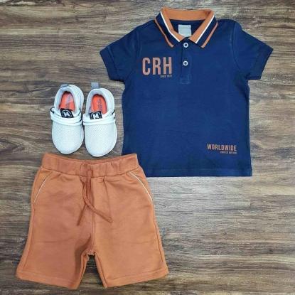 Conjunto CRH Since 1975 Infantil