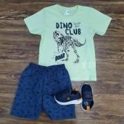 Conjunto Dino Club Infantil
