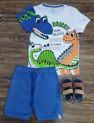Conjunto Dinossauro Infantil