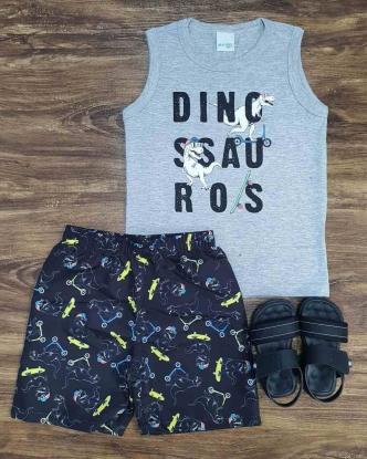Conjunto Dinossauros Infantil