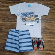Pijama Hot Wheels Infantil