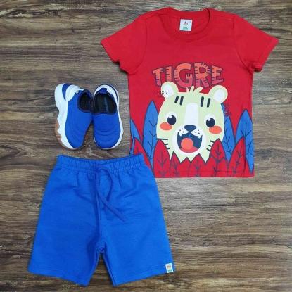 Conjunto Infantil Tigre