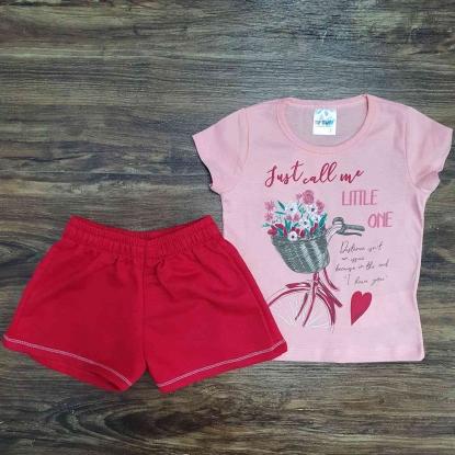 Conjunto Little One Rosa Infantil