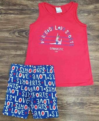 Conjunto Love Sports Infantil