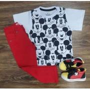 Conjunto Mickey Infantil