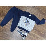 Conjunto Moletom Skate Infantil