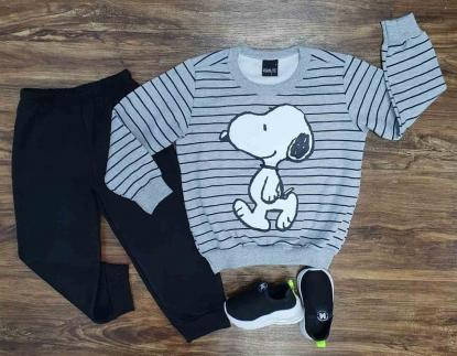 Conjunto Moletom Snoopy Infantil