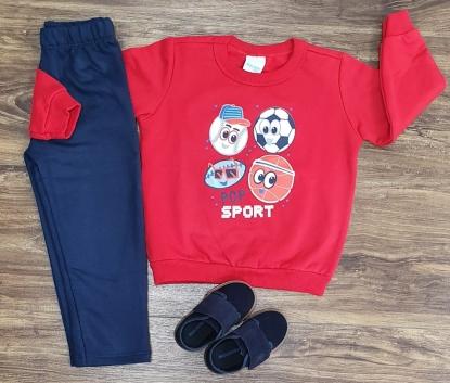 Conjunto Moletom Sport Infantil