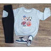 Conjunto de Moletom Sport Infantil