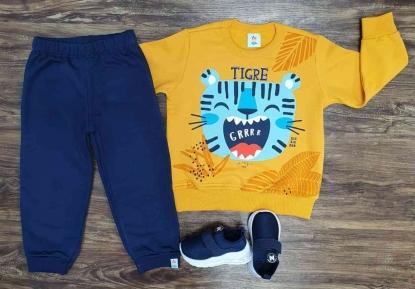 Conjunto Moletom Tigre Infantil