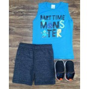Conjunto Monster Infantil