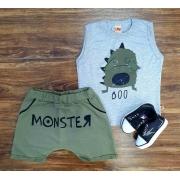 Conjunto Monster Infantil
