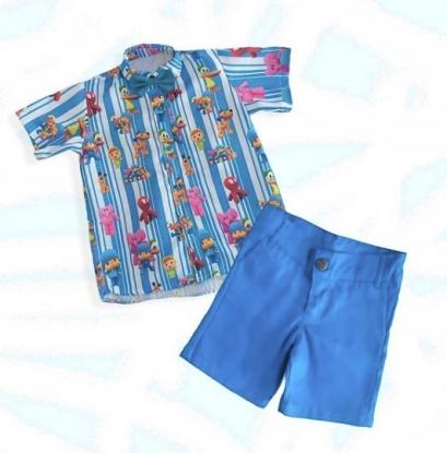 Conjunto Pocoyo Azul Infantil