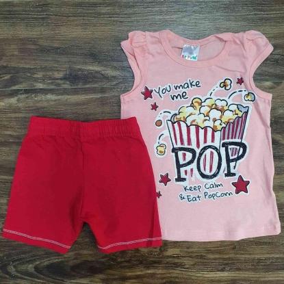 Conjunto Pop Rosa Infantil