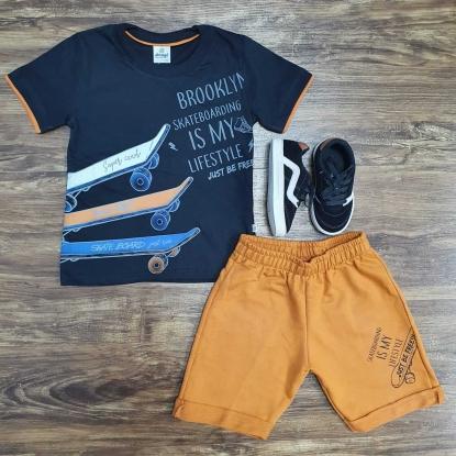 Conjunto Skate Boarding  Infantil