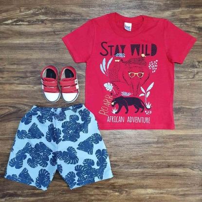 Conjunto Stay Wild Roar Infantil