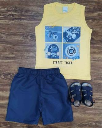 Conjunto Street Tiger Infantil