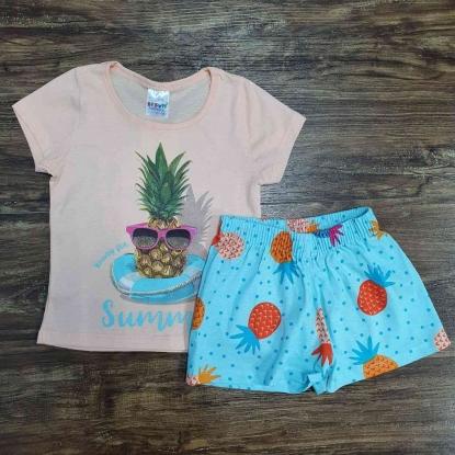 Conjunto Summer Azul Infantil