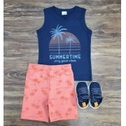 Conjunto Summer Time Infantil