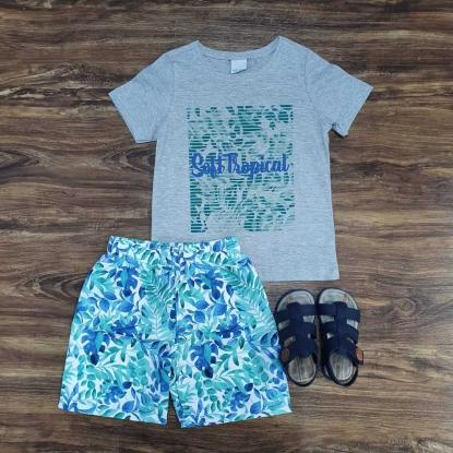 Conjunto Soft Tropical Infantil