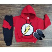 Conjunto Moletom The Flash Infantil