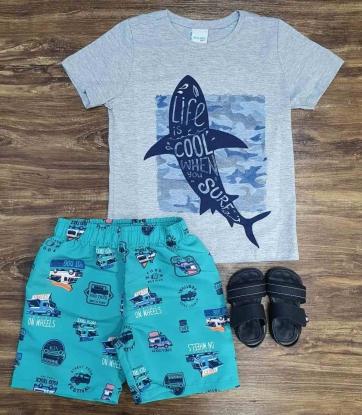 Conjunto Tubarão Infantil