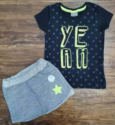 Conjunto Ye Ah Infantil