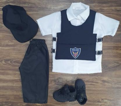 Fantasia Polícial Infantil