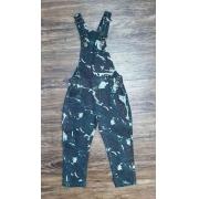 Jardineira Calça Camuflada Infantil