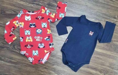 Kit Dois Bodys Infantil