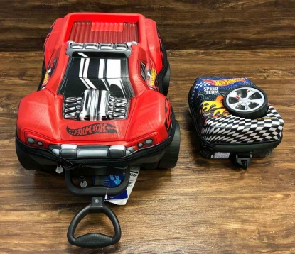 Kit Mochila e Lancheira Hot Wheels Infantil