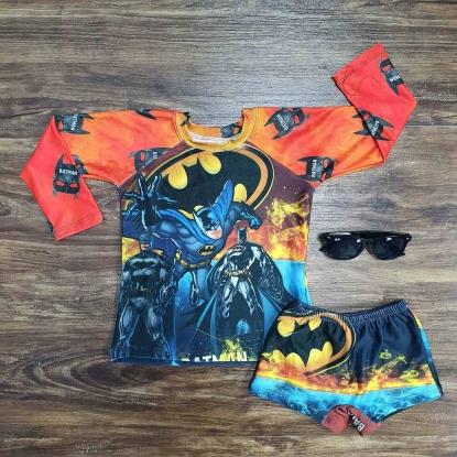 Kit Praia Batman Begins Infantil