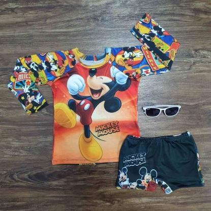 Kit Praia Mickey Mouse Infantil