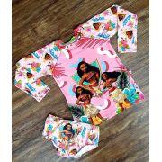 Kit Praia Moana - Calcinha e Camiseta UV