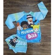 Kit Praia Mundo Bita Infantil