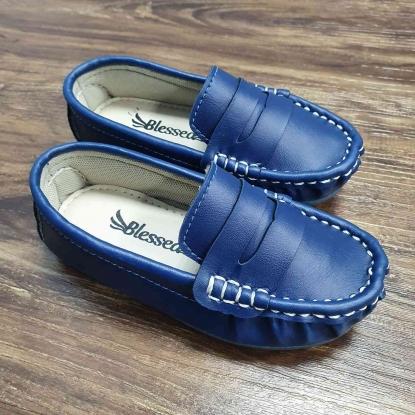 Mocassim Azul Royal Infantil