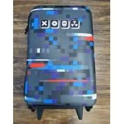 Mochila 3D com Rodinhase Teen Pixel Infantil
