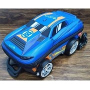 Mochila Hot Wheels D-Muscle 3D com Rodinhas Infantil