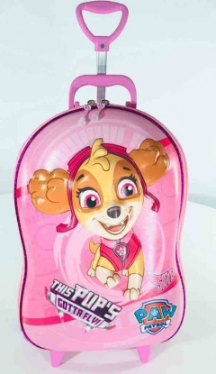 Mochila Patrulha Canina Skye Rosa Infantil