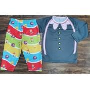 Pijama Mundo Bita Infantil