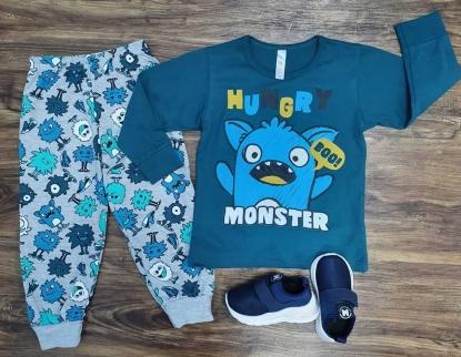 Pijama Monster Infantil