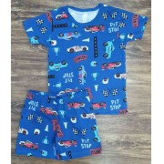 Pijama Pit Stop Infantil